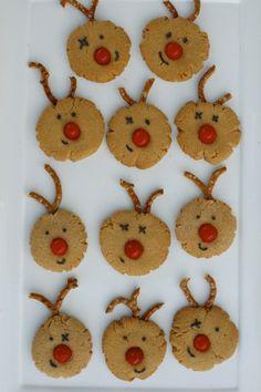 Red-Nosed Reindeer Cookies