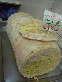 Umberto Curti: Cima (ripiena, alla genovese) - çimma: storia, ricetta, abbinamento
