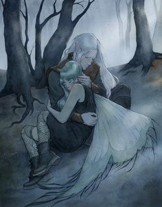 ekbelsher — Kaye and Roiben, in colour.It's about time I...