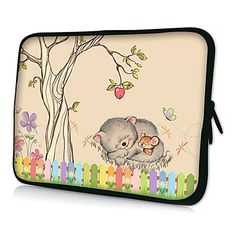 """HUADO® 15"""" Cartoon Laptop Sleeve Case for MacBook Air Pro/HP/DELL/Sony/Toshiba/Asus/Acer – EUR € 11.87"""