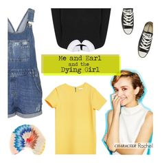 """Me and Earl and the Dying Girl: Rachel"" by uncharged-batteries ❤ liked on Polyvore featuring moda, Alice + Olivia, Zara, Converse, Topshop e Missoni Mare"
