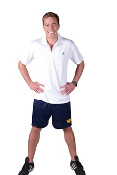 Cool Father's Day idea   Getting athlete ready and still being Irish?  Oh yes...the White Polo by Ireland Shirt