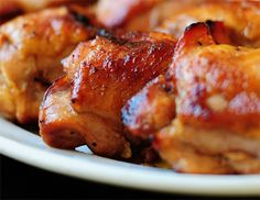 Chicken doesn't have to be boring and dry. No sirree! Round up some thighs, some honey and soy sauce and take a walk on the dark side.