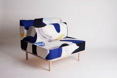 Designers Miranda Tengs Brun and Josefine Gilbert of Mijo Studio design graphic patterns and textiles inspired by their Scandinavian heritage.