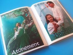 lds quiet book patterns | Serving Pink Lemonade: ABC Reverent Book