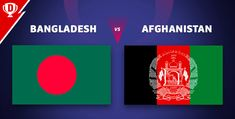 Bangladesh VS Afghanistan - Play Fantasy Cricket in India Cricket In India, The Underdogs, Cricket Match, Get The Job, Afghanistan, The Incredibles, Fantasy, Play, Fantasia