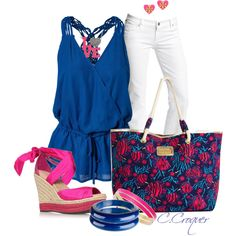 Lilly Pulitzer Totes Contest, created by ccroquer on Polyvore