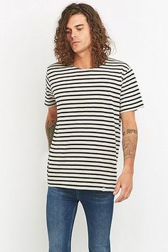 Cheap Monday Standard Psyched Sand Stripe Tee
