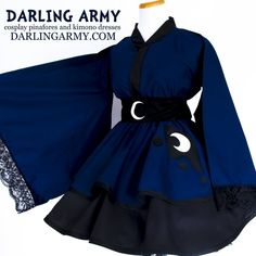 Japanese Cosplay Lunar Pony Princess Cosplay Kimono Dress - Custom cosplay alternatives for the cute enthusiast Cosplay Dress, Cosplay Outfits, Anime Outfits, Pretty Outfits, Pretty Dresses, Cool Outfits, Fashion Outfits, Kawaii Fashion, Lolita Fashion