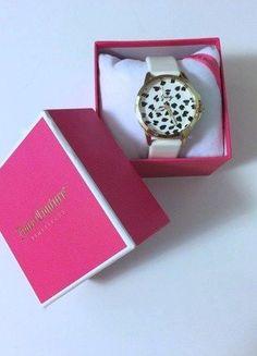 Kupuj mé předměty na #vinted http://www.vinted.cz/doplnky/hodinky/16567029-bile-nove-hodinky-juicy-couture