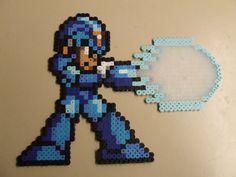 Megaman X Pixel Art Bead Sprite by MelParadise on Etsy