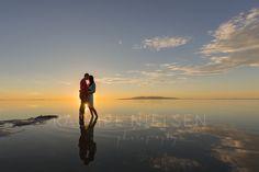 Utah wedding photographer - engagement session at the Great Salt Lake