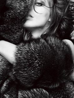 Venus in Furs | Daria Werbowy | Nathaniel Goldberg #photography | V Magazine 30