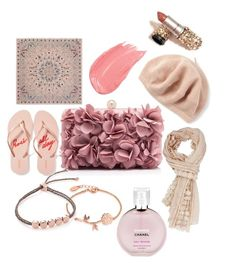 """""""Prink on the pink"""" by jamie-fabbro on Polyvore featuring Disney, Monica Vinader, Echo, Alexander McQueen, Old Navy and Chanel"""
