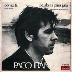 Palabras para Julia. Paco Ibáñez.