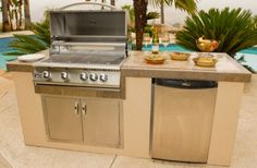 8 Satisfactory Outdoor Kitchen Cabinets Kits Photos - Small changes can have a giant impact on how your kitchen seems to be. Under are 11 decorating ideas Kitchen Island Kits, Kitchen Cabinets Kits, Outdoor Kitchen Cabinets, Kitchen Cabinet Design, Kitchen Layout, Kitchen Furniture, Kitchen Interior, Outdoor Furniture, Outdoor Decor