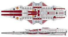 Battlefleet Gothic, Star Wars Spaceships, Starship Concept, Capital Ship, Star Wars Facts, Futuristic Interior, Star Wars Vehicles, Galactic Republic, Sci Fi Ships
