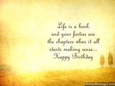 Inspirational 40th birthday wishes beautiful words to inspire
