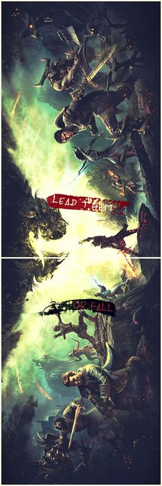 """Lead them or fall"" - Dragon Age: Inquisition"