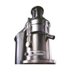 Breville 800JEXL Juice Fountain Elite 1000-Watt Juice Extractor.  $299.85 at Amazon.  The god of all juicers..