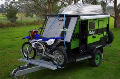 Built for all types of conditions and tough enough to 'go anywhere', Van Cruiser's new range of SUV Caravans are about to change your way of camping! Small Camper Trailers, Off Road Camper Trailer, Small Campers, Camper Caravan, Rv Trailers, Diy Camper, Camping Trailers, Jayco Campers, Teardrop Trailer Plans