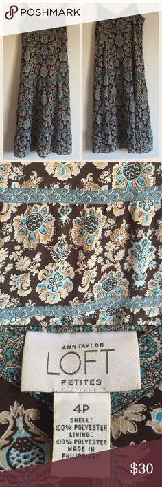 Selling this Ann Taylor LOFT Boho Style Strappy Dress on Poshmark! My username is: kt_wood. #shopmycloset #poshmark #fashion #shopping #style #forsale #LOFT #Dresses & Skirts