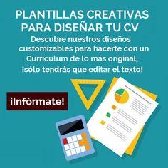 Sitios web para diseñar un CV original - Diseño CreativoDiseño Creativo