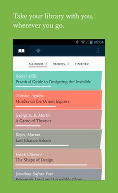Readmill App | List