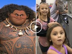 Sisters freak out once they run into their favourite Disney character (Video)