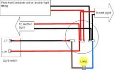 Click to view full image computerselectronics pinterest light fittings check out these useful light wiring diagrams from ultimate handyman cheapraybanclubmaster Gallery