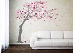 Cherry blossoms Tree decal nursery wall decal by DreamKidsDecal, $78.00