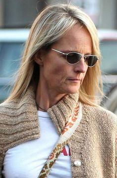 Helen Hunt ~ My ex sister-in-law J looks a little like Helen Hunt. Not a twin, but there are definitely some similarities.