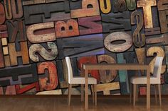 Our Print Letters Wallpaper Mural is a lovely unique design that will inject an abundance of colour into your interior decor. Superb woodblock print letters covered with different coloured inks combine to create an amazing feature wall that will be sure to turn heads and create a real focal point in your home. The Print Letters Wallpaper Mural is a stunning mural that will perfectly match any colour scheme or interior design ideas that you might have as well as look superb in any room of…