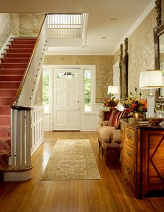 Love the chest on right side for foyer