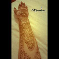 Dulhan mehndi draw Bride mehndi henna Full arm henna