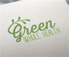 Logo Design for Green Whole Health Logo Design by JoGraphicDesign