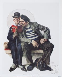 The Interloper  by Norman Rockwell