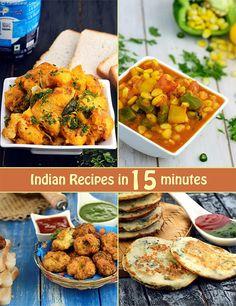 Indian Recipes in 15 Minutes | TarlaDalal.com | #54