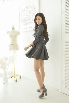 A-Line Belt Dress