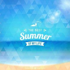The best summer of my life Freepik