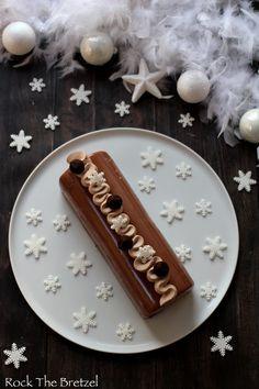 Bûche au chocolat au lait et à la noisette - Rock the Bretzel