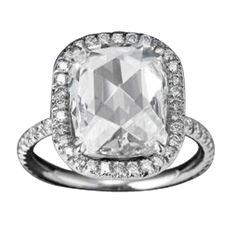 1stdibs - Cushion Rose-Cut Diamond Ring explore items from 1,700  global dealers at 1stdibs.com