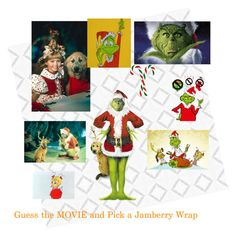 Jamberry nail wrap Jamberry game Facebook Game Guess the Movie Pick a Jamberry Wrap for the movie Pick a Jam for the movie THE GRINCH WHO STOLE CHRISTMAS THE GRINCH