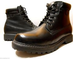 Mens Boots by Mountain Creek Style:Casual/Work Boot Color Black New Size 10.5 #MountainCreek #AnkleBoots