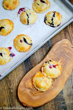 Berries and Cream Hand Pies