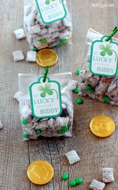 St. Patrick's Day Muddy Buddies with Printable, St. Patrick's Day snack, St. Patrick's Day racipes, St Patrick's Day Treat ideas