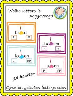 Open en gesloten lettergrepen – Weg van onderwijs