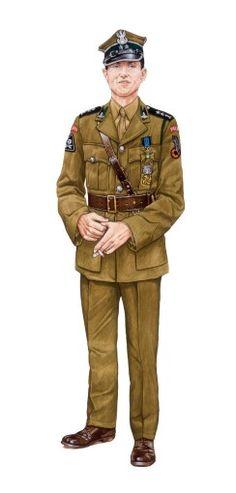 "Poland  WW2  ""Officer"" My Grandpa probably wore a similar uniform"