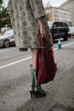 【スナップ】NYファッション・ウィーク真只中 おしゃれニューヨーカーをキャッチ! 72 / 278