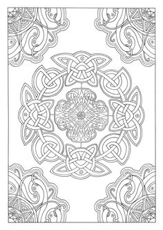 Therapy Coloring Books Awesome Art therapy Celtic 100 Designs Colouring In and R. - Therapy Coloring Books Awesome Art therapy Celtic 100 Designs Colouring In and Relaxation Michel so - Coloring Book Art, Mandala Coloring Pages, Colouring Pages, Adult Coloring Pages, Celtic Patterns, Celtic Designs, Mandala Art, Design Celta, Celtic Art